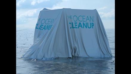 Estudiante holandés inventó una solución para limpiar los océanos