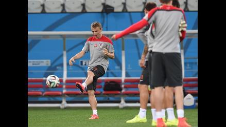 Croacia entrenó en Sao Paulo y quedó listo para el debut mundialista