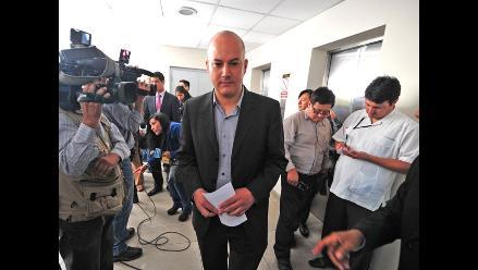 Tejada confirma que sustentará informe sobre narcoindultos