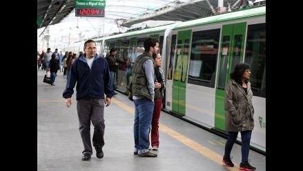 Intervienen a sujeto por tocamientos a una escolar en el Metro de Lima