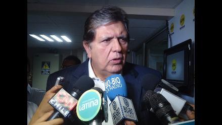 Alan García: Poder Judicial anuló informes humalistas
