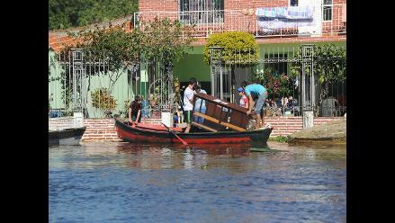 Suben a 58.300 los desplazados por las inundaciones en Asunción