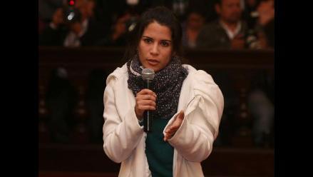 Eva Bracamonte reiteró ser inocente en nuevo juicio oral