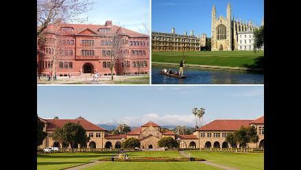 Cuatrocientas universidades top del mundo abren sus puertas a peruanos
