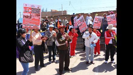 Huancayo: administrativos de Educación suspenden huelga indefinida