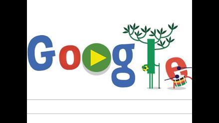 Google ofrece segundo ´doodle´ del Mundial Brasil 2014