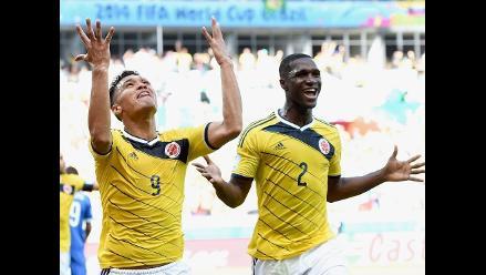 Colombia goleó 3-0 Grecia y comenzó a soñar en el Mundial Brasil 2014