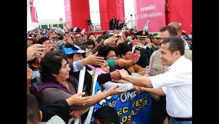 Presidente Humala envía saludo a padres peruanos en su día