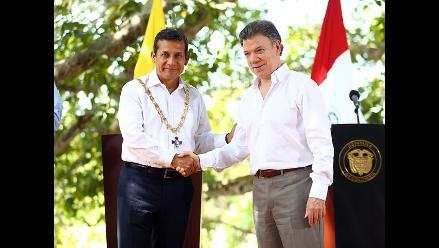Presidente Humala envía felicitación a Santos tras triunfo en Colombia