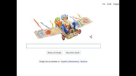 Google dedica tierno doodle por el Día del Padre