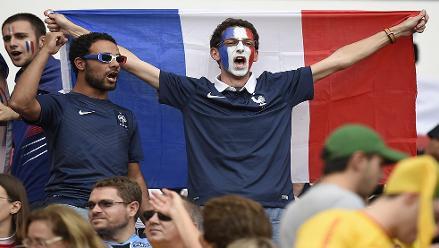 Brasil 2014: Así vivieron los hinchas la previa del Francia vs Honduras