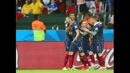 Mira el tercer gol de Francia y el segundo de Karim Benzema ante Honduras