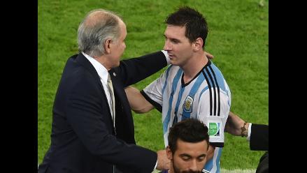 Sabella: Messi es el mejor del mundo, más allá de lo que pase en el Mundial