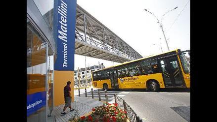 Operadores del Metropolitano a favor de buses para menores de edad