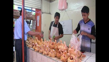 Chiclayo: precio del kilo de pollo subió a 9 soles