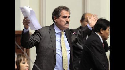 Comisión de Ética recomienda suspender por 120 días a Julio Gagó