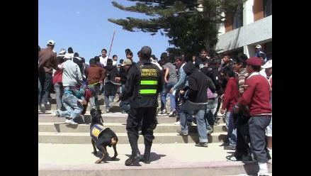 Siete heridos deja gresca al interior de local político en Pomabamba