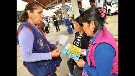 Arequipa: realizan campaña para mejorar la atención de afiliados al SIS
