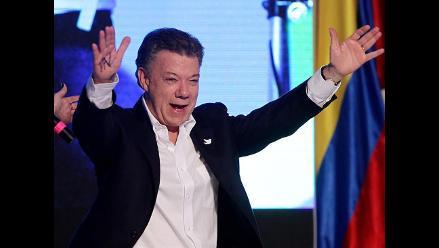 Juan Manuel Santos es reelegido para gobernar Colombia hasta 2018