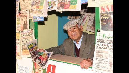 Don Nilo Calero, el periodista coleccionista de diarios