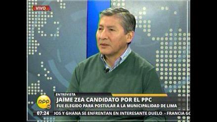 Jaime Zea a Luis Castañeda: Nadie es invencible