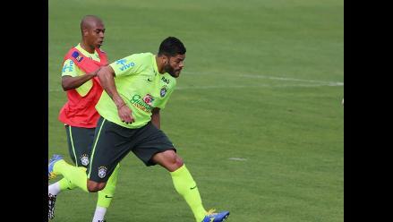 Hulk es la única duda para segundo partido de Brasil en el Mundial