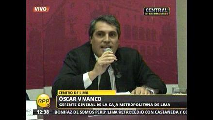 CML: Operación con promotora Chulucanas se viene pagando puntualmente