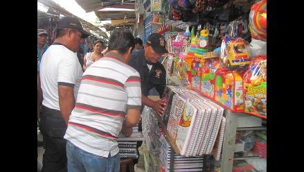 Chiclayo: sancionan a comerciantes por ocupar pasadizos del mercado