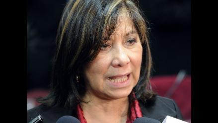 Martha Chávez niega consenso sobre propuesta de ´Unión Solidaria´