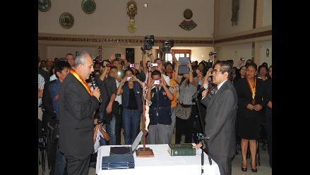 Lambayeque: presidente encargado asegura que continuará la obra de Acuña