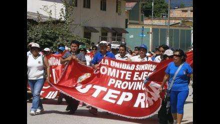 Pasco: profesores del Sutep acatan desde hoy paro de 48 horas