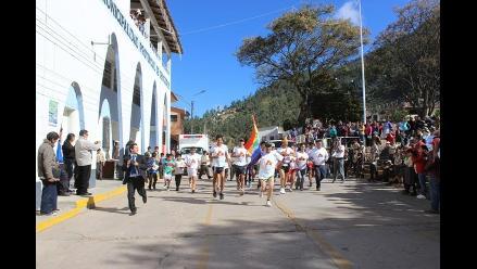 Apurímac: 40 atletas realizan maratónico recorrido desde Junín