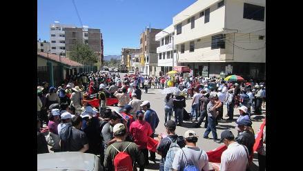 Cajamarca: profesores acataron paro contra gobierno regional