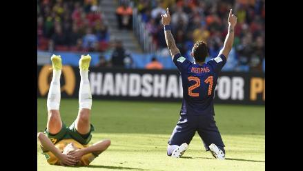 Holanda vs. Australia: ´Naranja Mecánica´ gana y acaricia octavos de final