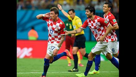 Croacia vs. Camerún: Balcánicos golean 4-0 y domaron a ´leones´