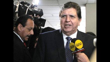 Pleno del Congreso aprueba denuncia a Alan García por ´narcoindultos´