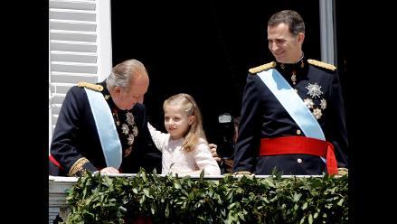 Leonor, princesa de Asturias y heredera al trono a los 8 años