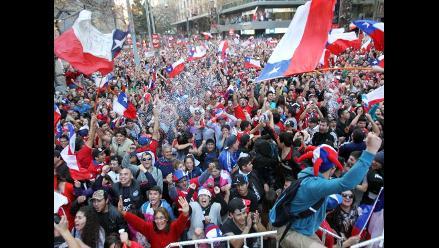 Chile y el momento en que todo un país grita el segundo gol ante España