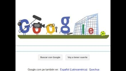 Google vuelve a estrenar nuevo doodle mundialista