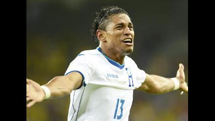 Mira el gol de Carlo Costly que le dio el 1-0 a Honduras ante Ecuador