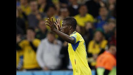 Enner Valencia le dio el empate 1-1 rápido a Ecuador ante Honduras