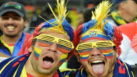 Brasil 2014: Así se vivió en las tribunas el Ecuador 2 - Honduras 1