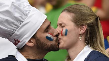 Brasil 2014: Los mejores besos del Mundial