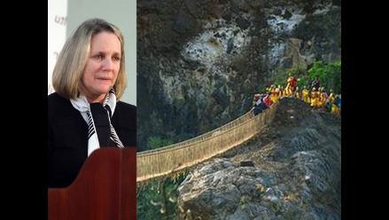 Ministra de Cultura: Qhapaq Ñan, un reconocimiento a la ingeniería andina