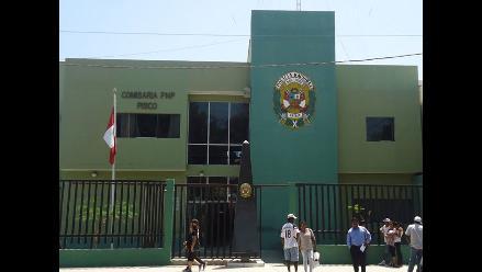 Pisco: intervinen a tres policías por almacenar droga