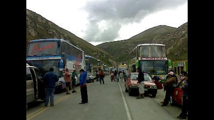 Chosica: Detienen a 10 choferes que intentaron coimas a PNP