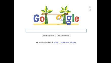 Google le dedica su doodle a los arqueros del Mundial