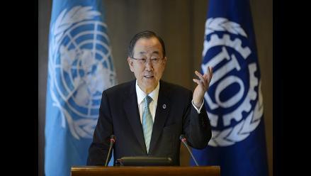 Ban Ki-moon respalda plan de paz de Poroshenko en Ucrania