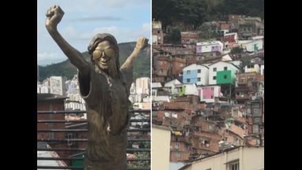 RPP Noticias llegó a favela Santa Marta, famosa gracias a Michael Jackson