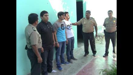Chiclayo: capturan a sujetos que asaltaron farmacia en Monsefú